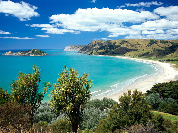 Anaura Bay Gisborne New Zealand