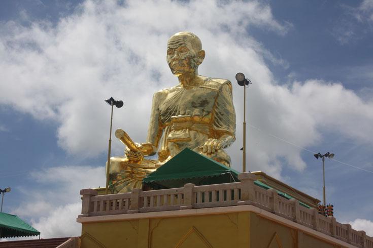 หลวงพ่อคูณ ปริสุทโธ  องค์ใหญ่ที่สุดในโลก  ที่วัดบ้านไร่ 2 (วัดบุไผ่) ต.ไทยสามัคคี  อ.วังน้ำเขียว   จ.นครราชสีมา